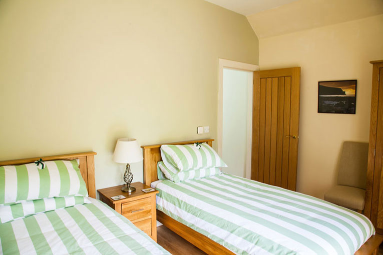Guest house accommodation in Peebles with en suite facilities.